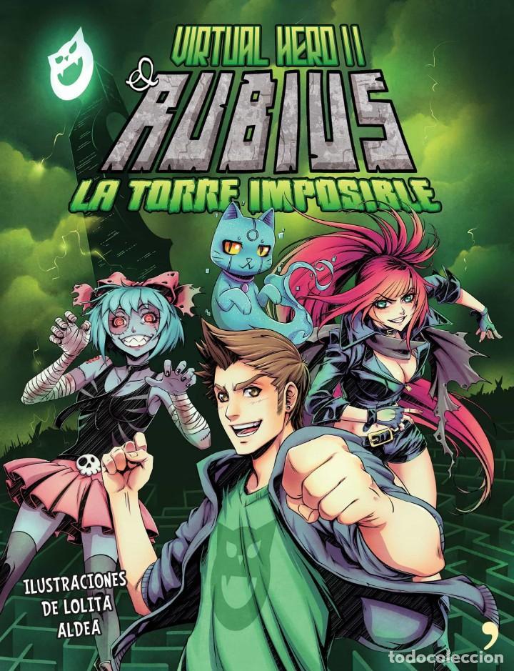 Cómics: 2 LIBROS COMIC-ELRUBIUS VIRTUAL HERO I y LA TORRE IMPOSIBLE VIRTUAL HERO II - Foto 5 - 201704677