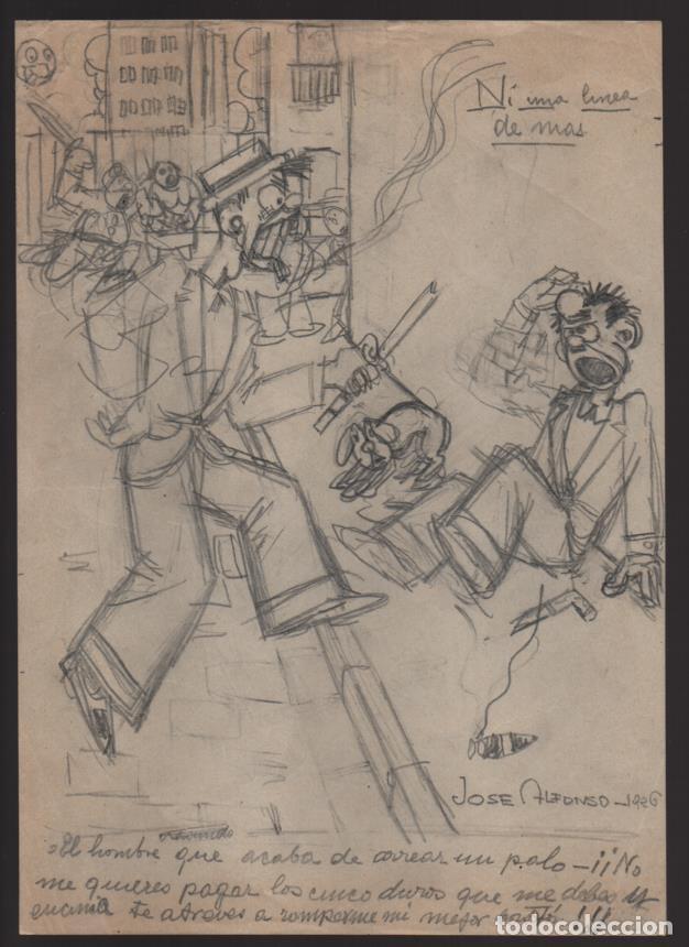 VOCETOS VARIOS ORIGINALES DE JOSE ALFONSO- CARLOS ALFONSO- AÑO 1926. VER FOTOS (Tebeos y Comics - Comics Extras)