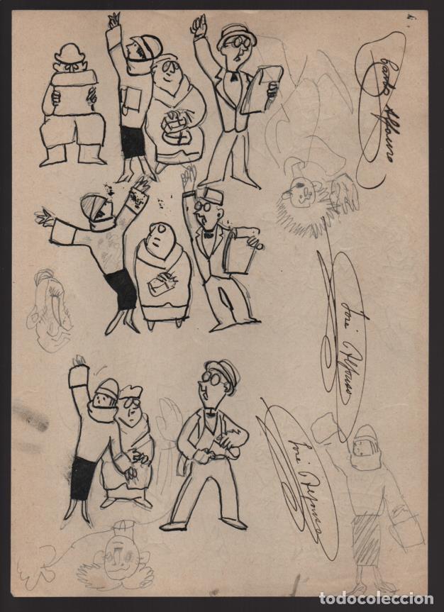 Cómics: VOCETOS VARIOS ORIGINALES DE JOSE ALFONSO- CARLOS ALFONSO- AÑO 1926. VER FOTOS - Foto 3 - 202754790