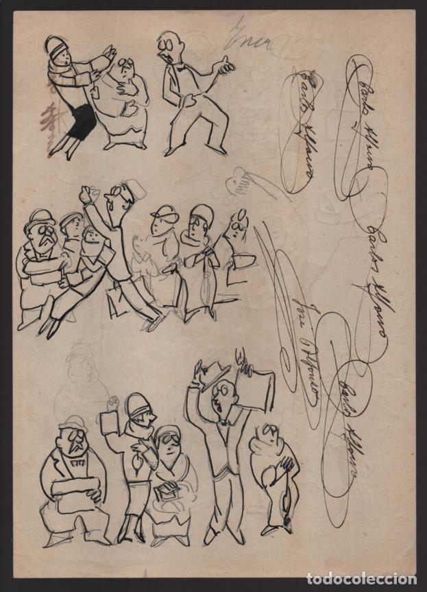 Cómics: VOCETOS VARIOS ORIGINALES DE JOSE ALFONSO- CARLOS ALFONSO- AÑO 1926. VER FOTOS - Foto 5 - 202754790