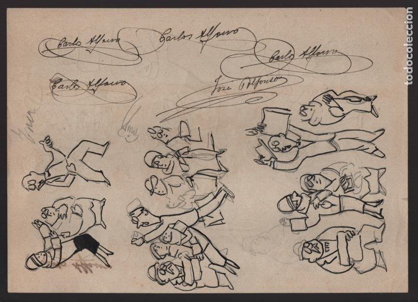 Cómics: VOCETOS VARIOS ORIGINALES DE JOSE ALFONSO- CARLOS ALFONSO- AÑO 1926. VER FOTOS - Foto 6 - 202754790