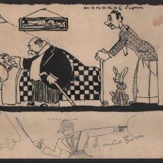 Cómics: VOCETOS VARIOS ORIGINALES DE ARZUGER--REINOSO-MONDRAGON-- AÑO 1926. VER FOTOS. Lote 202755580