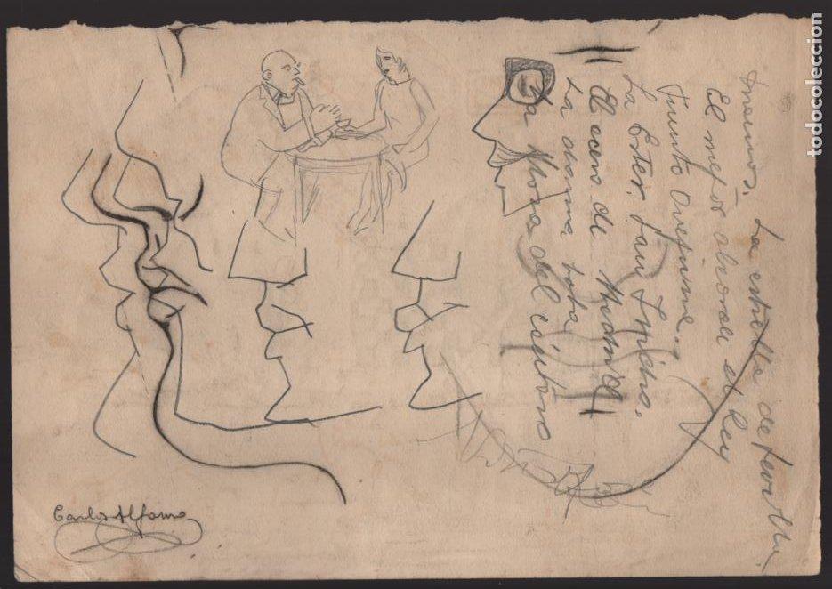 Cómics: VOCETOS VARIOS ORIGINALES DE ARZUGER--REINOSO-MONDRAGON-- AÑO 1926. VER FOTOS - Foto 2 - 202755580