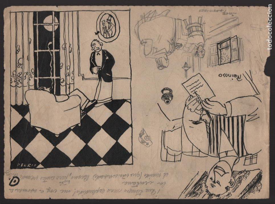 Cómics: VOCETOS VARIOS ORIGINALES DE ARZUGER--REINOSO-MONDRAGON-- AÑO 1926. VER FOTOS - Foto 3 - 202755580
