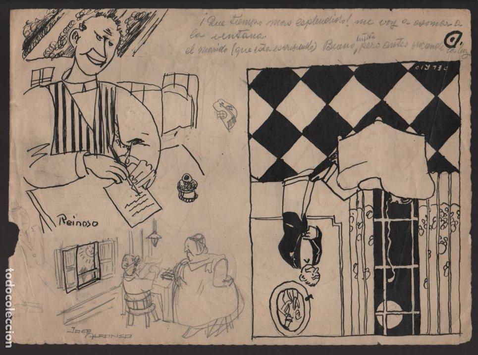 Cómics: VOCETOS VARIOS ORIGINALES DE ARZUGER--REINOSO-MONDRAGON-- AÑO 1926. VER FOTOS - Foto 4 - 202755580