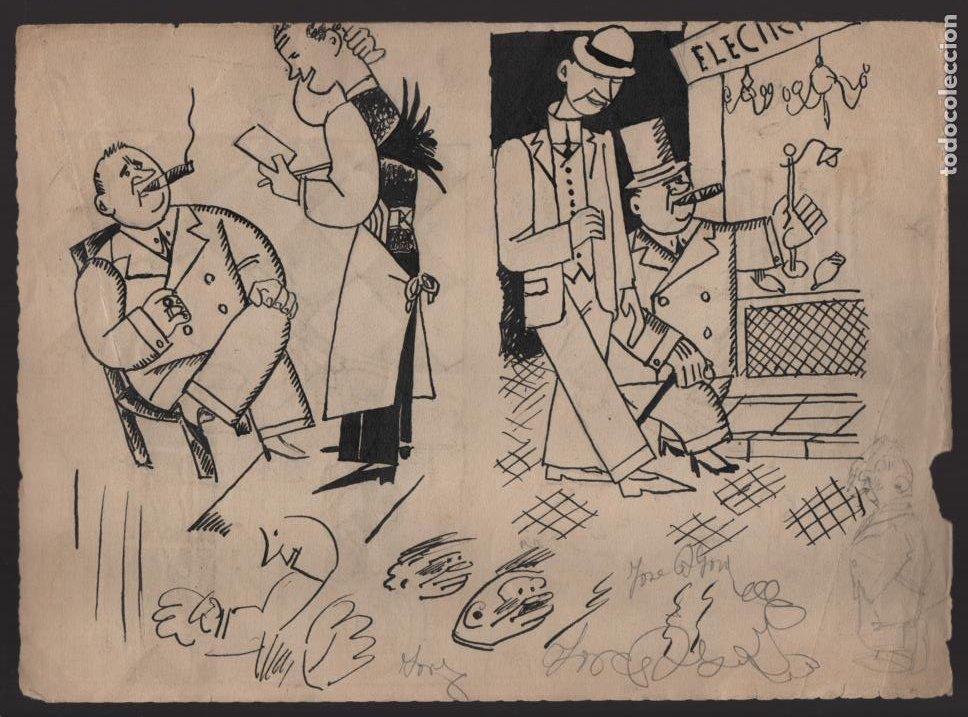 Cómics: VOCETOS VARIOS ORIGINALES DE ARZUGER--REINOSO-MONDRAGON-- AÑO 1926. VER FOTOS - Foto 5 - 202755580