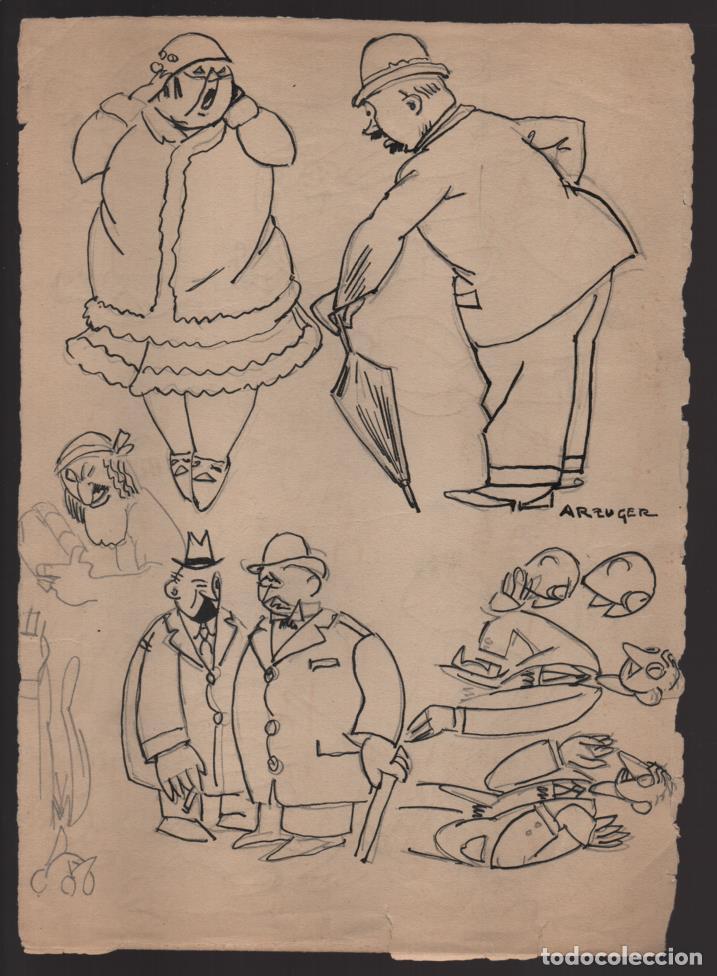 Cómics: VOCETOS VARIOS ORIGINALES DE ARZUGER--REINOSO-MONDRAGON-- AÑO 1926. VER FOTOS - Foto 6 - 202755580