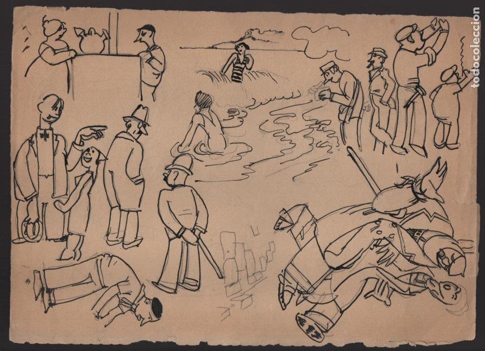 Cómics: VOCETOS VARIOS ORIGINALES DE ARZUGER--REINOSO-MONDRAGON-- AÑO 1926. VER FOTOS - Foto 7 - 202755580