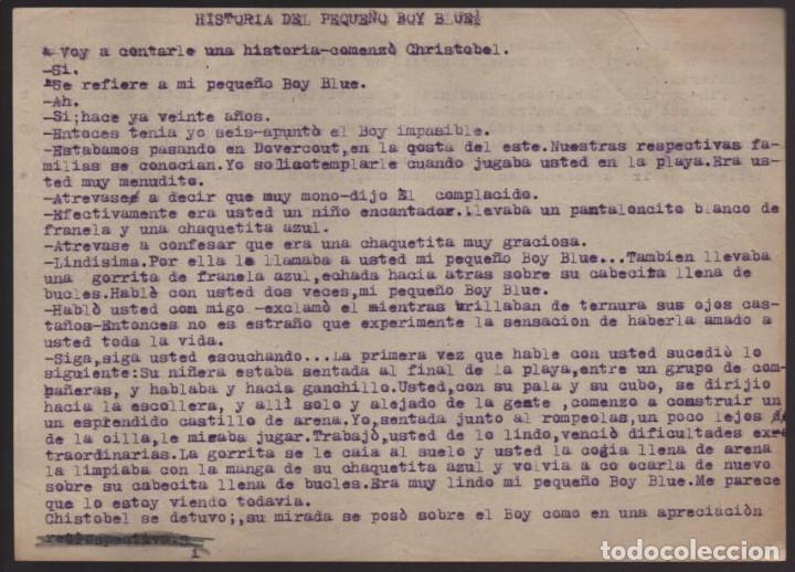 Cómics: VOCETOS VARIOS ORIGINALES DE ARZUGER--REINOSO-MONDRAGON-- AÑO 1926. VER FOTOS - Foto 8 - 202755580