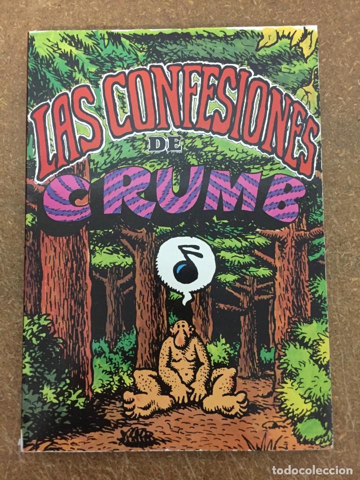 LAS CONFESIONES DE CRUMB (PASTANAGA, 1978) (Tebeos y Comics - Comics Extras)