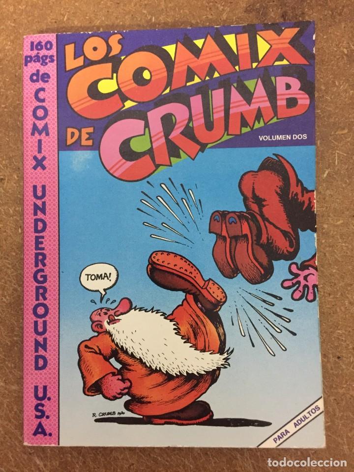 LOS COMIX DE CRUMB VOL. 2 (PASTANAGA, 1978) (Tebeos y Comics - Comics Extras)