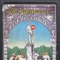 Cómics: NAZARIO – SAN REPRIMONIO Y LAS PIRAÑAS. ROCK COMIX, NÚMERO EXTRA. Lote 204457926