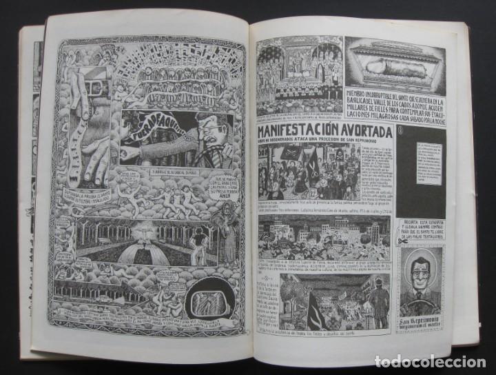 Cómics: NAZARIO – San Reprimonio y las pirañas. Rock Comix, número extra - Foto 2 - 204457926