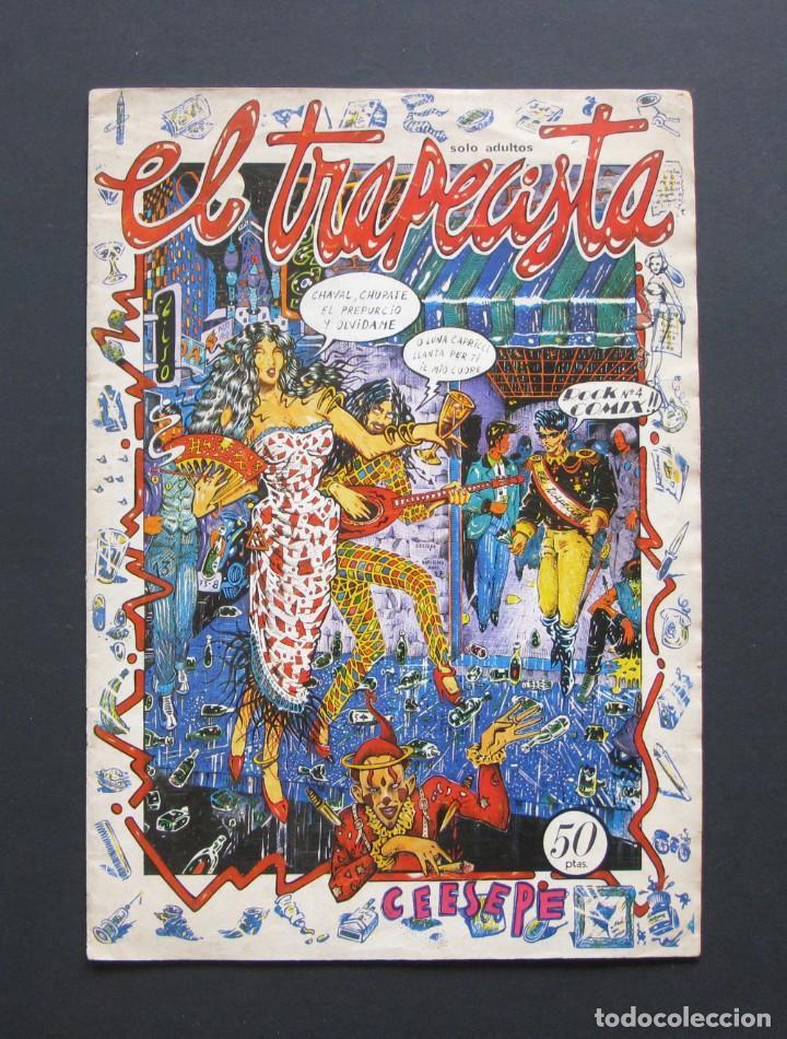 CEESEPE - EL TRAPECISTA – ROCK COMIX (Tebeos y Comics - Comics Extras)