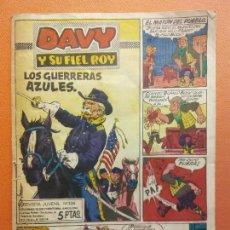 Cómics: DAVY Y SU FIEL ROY. REVISTA JUVENIL Nº 326. EDICIONES OLIVE Y HONTORIA. Lote 207196555