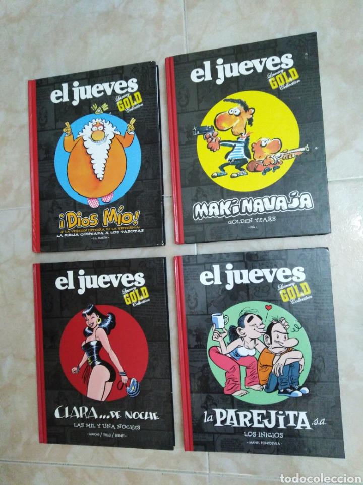 LOTE DE 4 LIBROS EL JUEVES ( LUXURY GOLD COLLECTION ) (Tebeos y Comics - Comics Extras)