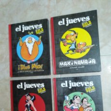 Cómics: LOTE DE 4 LIBROS EL JUEVES ( LUXURY GOLD COLLECTION ). Lote 208111723