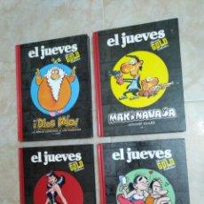 Cómics: LOTE DE 4 LIBROS EL JUEVES ( LUXURY GOLD COLLECTION ). Lote 208111723
