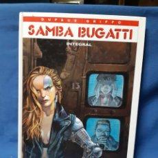 Cómics: COMIC SAMBA BUGATTI INTEGRAL DE DUFAUX GRIFO.. Lote 210826231