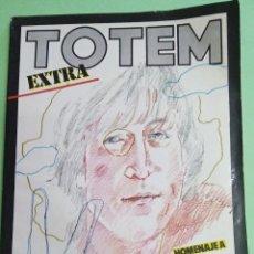 Cómics: TOTEM EXTRA Nº 15 - HOMENAJE A JOHN LENNON - 1977 - COMIC. Lote 219423640