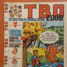 Fumetti: TBO 2000 REVISTA JUVENIL. Nº 2076. AÑO LIX. Lote 219859922
