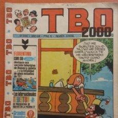 Comics: TBO 2000 REVISTA JUVENIL. Nº 2085. AÑO LVIII. Lote 219860490