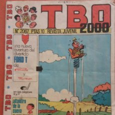 Fumetti: TBO 2000 REVISTA JUVENIL. Nº 2067 AÑO LVIII. Lote 219860925