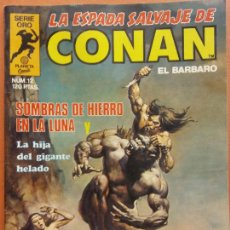 Comics: LA ESPADA SALVAJE DE CONAN. EL BARBARO. SERIE ORO. EDITORIAL PLANETA. Lote 219861561