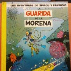 Cómics: LA GUARDIA DE LA MORENA. LAS AVENTURAS DE SPIROU Y FANTASIO. EDICIONES JUNIOR. Lote 220873137