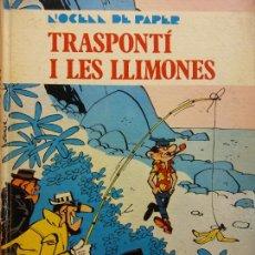 Cómics: TRASPONTI I LES LLIMONES. L'OCEA DE PAPER. BERCK I ACAR. ABADIA DE MONTSERRAT. EN CATALA. Lote 221136001