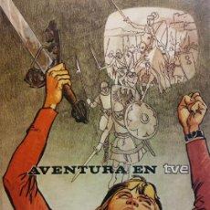 Cómics: AVENTURA EN TVE. DEPARTAMENTO DE PUBLICACIONES RTVE. Lote 221136426