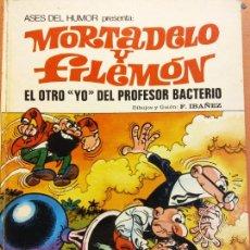 Cómics: MORTADELO Y FILEMÓN. EL OTRO YO DEL PROFESOR BACTERIO. F. IBAÑEZ. EDITORIAL BRUGUERA. Lote 221137005