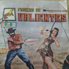 Cómics: EL IMPOSTOR, AÑO 1,N 18, PÁGINAS DE VALIENTES A COLOR. Lote 221337128