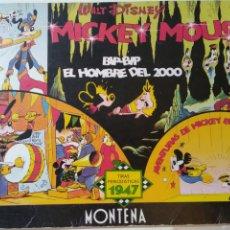 Cómics: TIRAS PERIODÍSTICAS DE MICKEY MOUSE NUMERADA .AÑO 84.EL HOMBRE DEL 2000. Lote 221980391