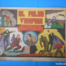 Comics: EL FALSO VAMPIRO. ROBERTO ALCAZAR. UNA AVENTURA COMPLETA. AUTÉNTICOS CÓMICS.. Lote 222328955