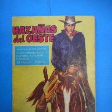 Comics: HAZAÑAS DEL OESTE. EDICIONES TORAY,S.A. AUTÉNTICO CÓMICS.. Lote 222331091