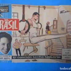 Cómics: BRASIL. GOMEZ ESTEBAN. COLECCIÓN CLARO DE LUNA. AUTÉNTICO CÓMIC.. Lote 222334352