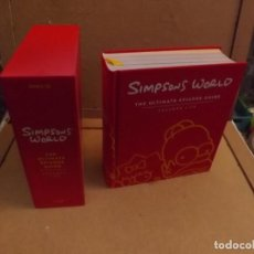 Cómics: SIMPSONS WORLD - ULTIMATE EPISODE GUIDE - SEASONS 1-20 INGLES. Lote 222572180