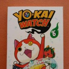 Cómics: YO - KAI WATCH Nº 6. NORIYUKI KONISHI. EDITORIAL NORMA. Lote 222654340