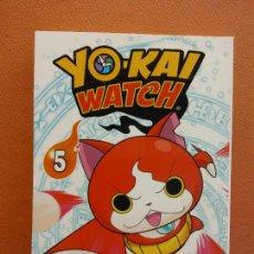 Cómics: YO - KAI WATCH Nº 5. NORIYUKI KONISHI. EDITORIAL NORMA. Lote 222654347