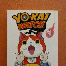 Cómics: YO - KAI WATCH Nº 4. NORIYUKI KONISHI. EDITORIAL NORMA. Lote 222654366