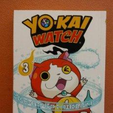 Cómics: YO - KAI WATCH Nº 3. NORIYUKI KONISHI. EDITORIAL NORMA. Lote 222654401
