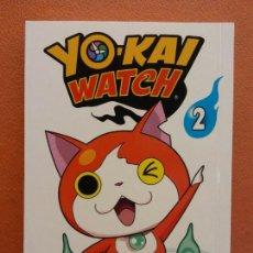 Cómics: YO - KAI WATCH Nº 2. NORIYUKI KONISHI. EDITORIAL NORMA. Lote 222654422