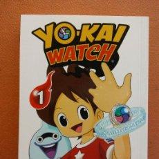 Cómics: YO - KAI WATCH Nº 1. NORIYUKI KONISHI. EDITORIAL NORMA. Lote 222654453