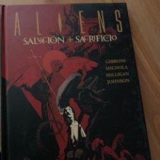 Cómics: ALIENS SALVACIÓN + SACRIFICIO. Lote 222678202