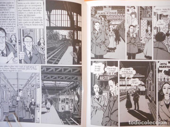 Cómics: NIEBLA EN EL PUENTE DE TOLBIAC. LEO MALET. JAQUES TARDI. CÓMICS. EL PAÍS. - Foto 3 - 223583506