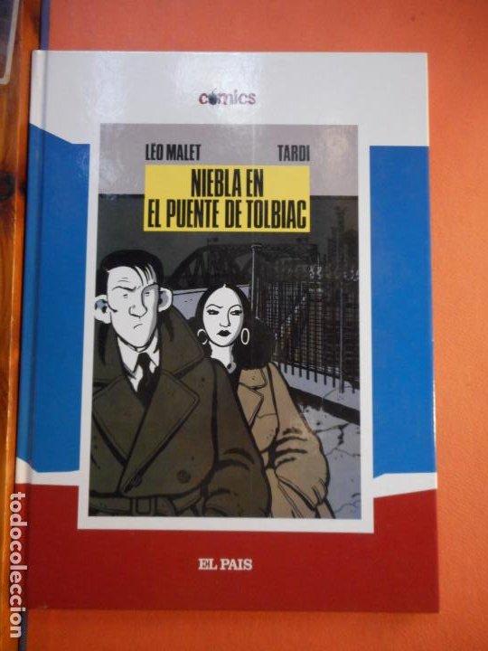 NIEBLA EN EL PUENTE DE TOLBIAC. LEO MALET. JAQUES TARDI. CÓMICS. EL PAÍS. (Tebeos y Comics - Comics Extras)