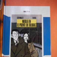Cómics: NIEBLA EN EL PUENTE DE TOLBIAC. LEO MALET. JAQUES TARDI. CÓMICS. EL PAÍS.. Lote 223583506