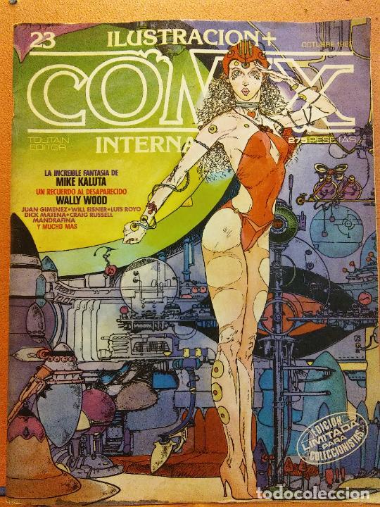 COMIX. ILUSTRACIÓN INTERNACIONAL Nº 23. TOUTAIN EDITOR (Tebeos y Comics - Comics Extras)