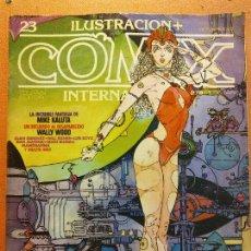 Comics: COMIX. ILUSTRACIÓN INTERNACIONAL Nº 23. TOUTAIN EDITOR. Lote 223593778